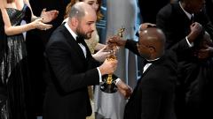 Коментари за грандиозния гаф на Оскарите (ВИДЕО)