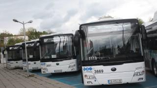 Нови 22 автобуса тръгнаха по линия 604 в София