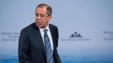 Терористите да не се използват като пионки в геополитически игри, зове Лавров