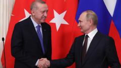 Ердоган предложил на Русия съвместно управление на петролните полета в Източна Сирия