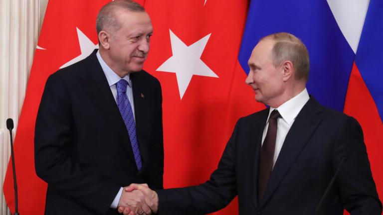 Турският президент Реджеп Тайип Ердоган обяви, че е предложил съвместно