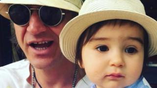 Радина Кърджилова и Деян Донков показаха сина си (СНИМКИ)