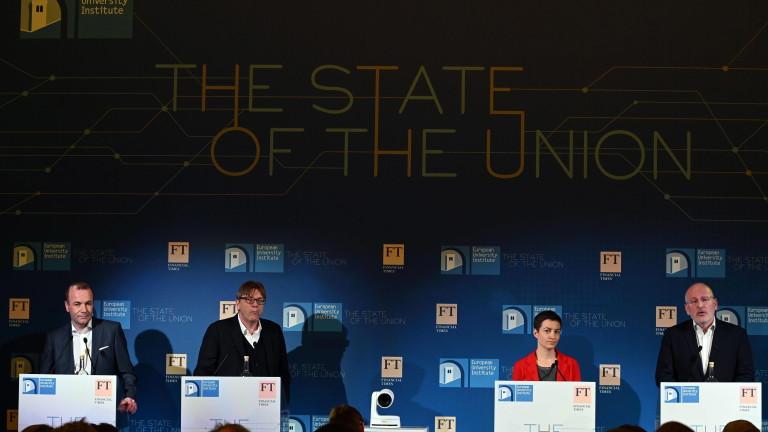 Топ кандидатите за шеф на ЕК влязоха в сблъсък за плана за армия на ЕС