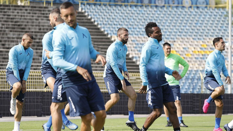 Двама футболисти пропуснаха сутрешната тренировка на Левски
