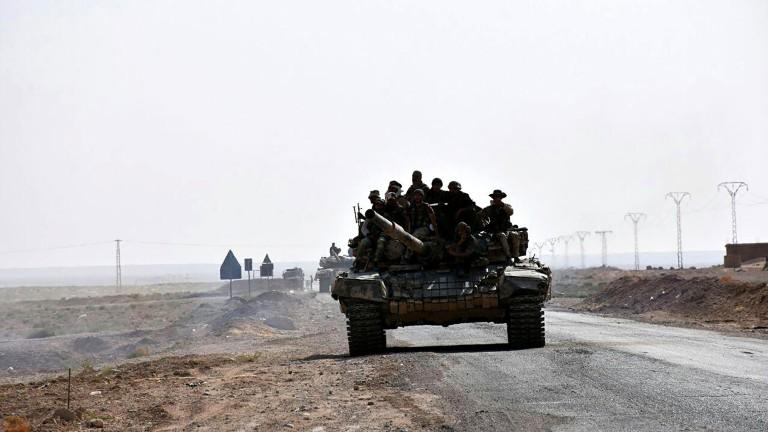 Иран удари ДАЕШ в Сирия