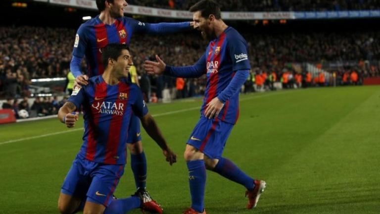 """Барселона си го изкара на Атлетик в зрелище на """"Камп Ноу""""! (ВИДЕО)"""
