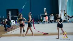Девойките отпътуваха за Европейското по художествена гимнастика в Киев