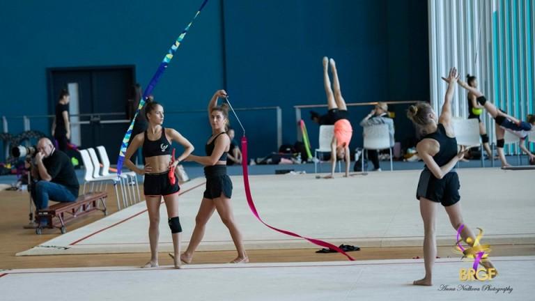 Гимнастичките ни с първа тренировка в Баку