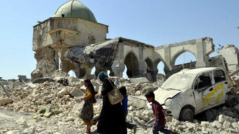 """Разследване на престъпленията срещу жителите на Мосул искат от """"Амнести интернейшънъл"""""""