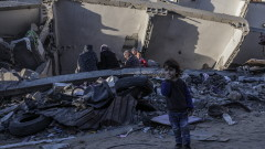 Ескплозии в Газа след ракетен обстрел срещу Израел