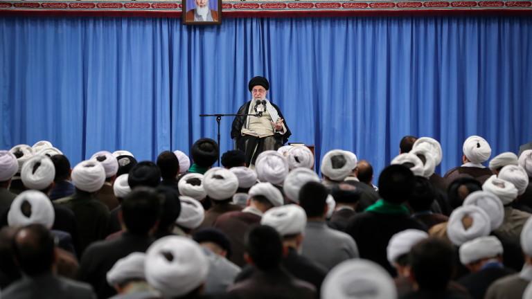 Върховният лидер на Иран аятолах Али Хаменеи обяви, че