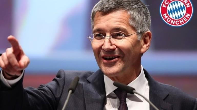 Херберт Хайнер е новият президент на Байерн