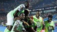 Гол в последната минута прати Нигерия на полуфинал