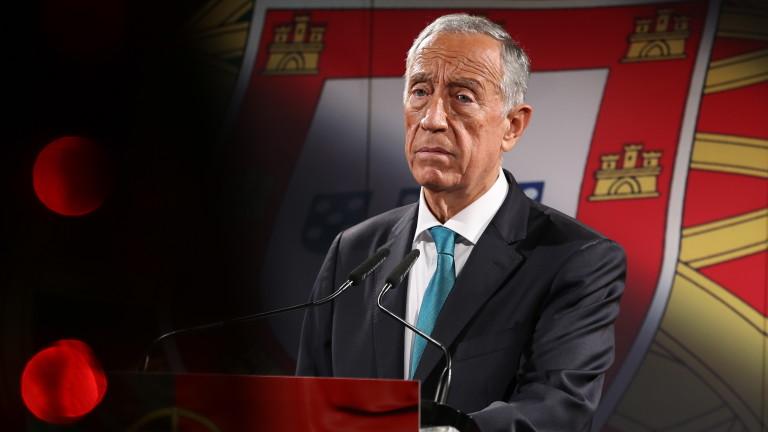 Часове по-късно президентът на Португалия с отрицателен тест за коронавирус