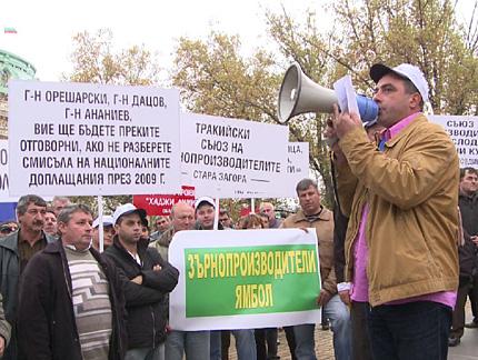 Приключваме с мирните протести, предупредиха зърнопроизводители