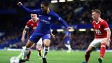 Челси мачка за Купата на Лигата, получи късен гол