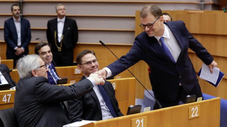 Бъдещето на Европа зависи от баланс в еврозоната, средства и законност