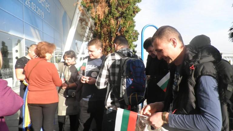 Поредната група украински военни, които бяха у нас по програмата