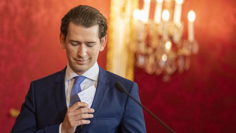 Австрийската партия на свободата заплаши с оставки, ако Курц уволни вътрешния министър