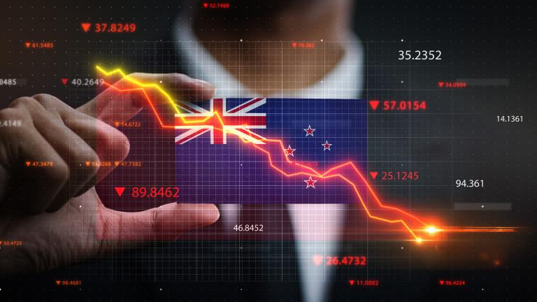 Икономиката на Нова Зеландия с най-голямо забавяне от 29 г.