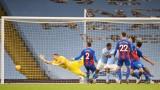 Джон Стоунс изненада с два гола за Манчестър Сити срещу Кристъл Палас