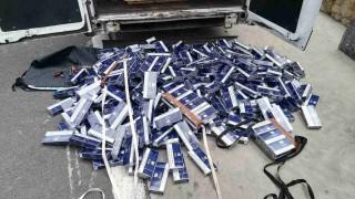 Хванаха контрабандни цигари за над половин милион
