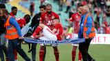 Иван Турицов няма скъсани връзки на дясното коляно, но ще се възстановява известно време