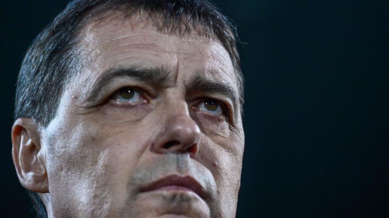 Хубчев няма загуба в гостуване от евротурнирите като треньор