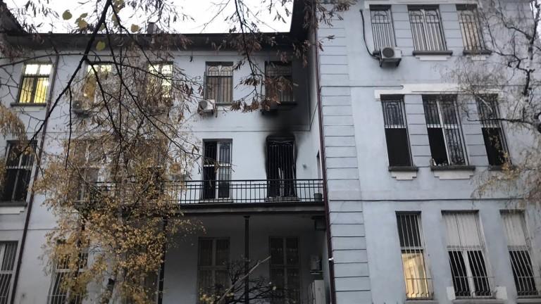 """Запалима смес причинила взрива в """"Пирогов"""""""