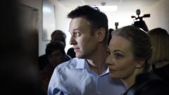 Алексей Навални сряза гривната си за проследяване