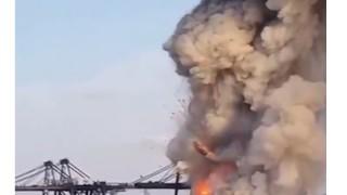 Взрив на търговско пристанище в Тайланд