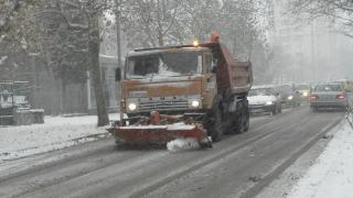 173 снегорина в готовност за новия сняг в София