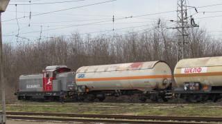 Цистерна с газ дерайлира на гара Бяла, върнаха я на релсите