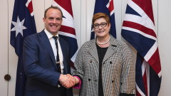 Рааб в Австралия: Обединеното кралство ще бъде силата на доброто в света