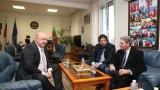 Министър Кралев проведе работна среща с президента на Международната тенис федерация Дейвид Хагърти