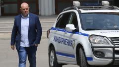 Божков запазил като трофей и артефакт регистрацията си в МВР