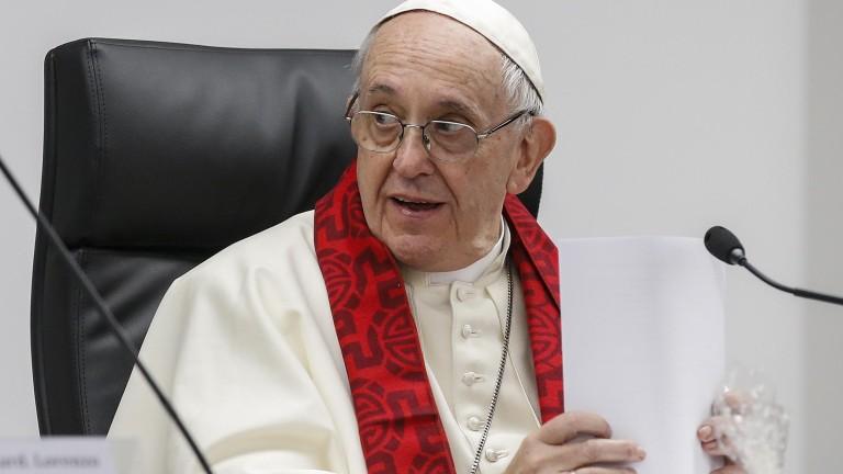 """Папата осъди проституцията като """"изтезание"""""""