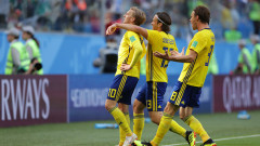 Швеция излъга Швейцария и е четвъртфиналист на Мондиал 2018