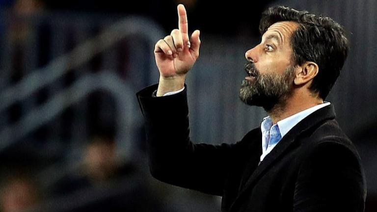 Кике Санчес Флорес вече не е треньор на Еспаньол. Специалистът
