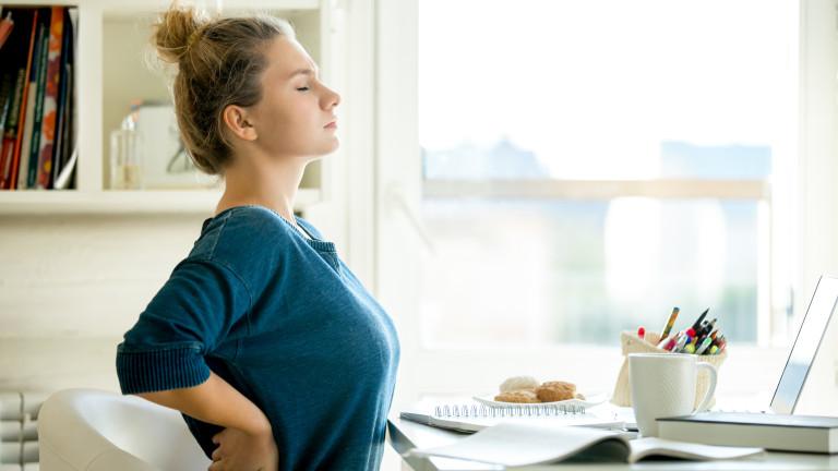 Работата от вкъщи води до болки, страдание и повече алкохол,