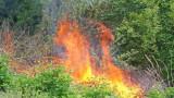 След угасен пожар откриха труп на мъж край село Звънчево