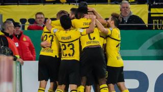 Борусия (Дортмунд) се измъкна в 120-ата минута за Купата на Германия