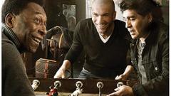 Зидан, Пеле и Марадона рекламират Louis Vuitton