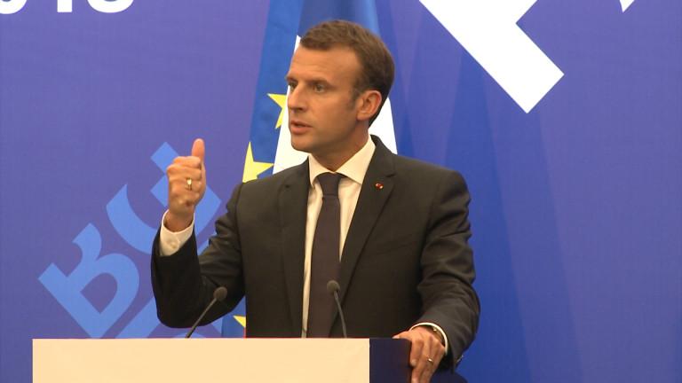 Френският президент Емануел Макрон е склонен на компромис по пакета