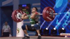 Ангел Русев с три рекорда на Световното първенство по вдигане на тежести в Ашхабад