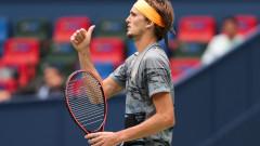 Александър Зверев сложи край на мечтата на Роджър Федерер за трета титла в Шанхай