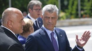 Косово не е Каталуния, обяви Тачи