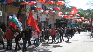 """Левицата """"възкръсва"""" на Великден с първомайски митинг"""