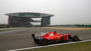 Ферари с предимство в последната тренировка в Шанхай