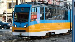 Верижна катастрофа с трамвай в столицата